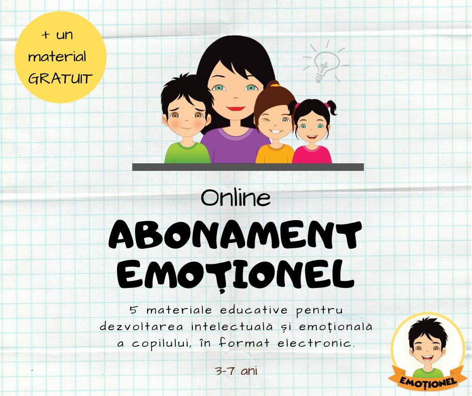 Abonament Emoționel Online
